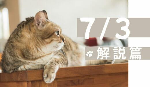 2021/7/3(土) 体癖解説講座